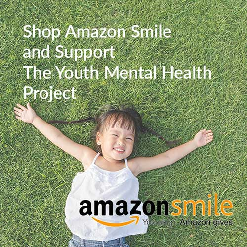Shop Amazon Smile wit the youth mental health project