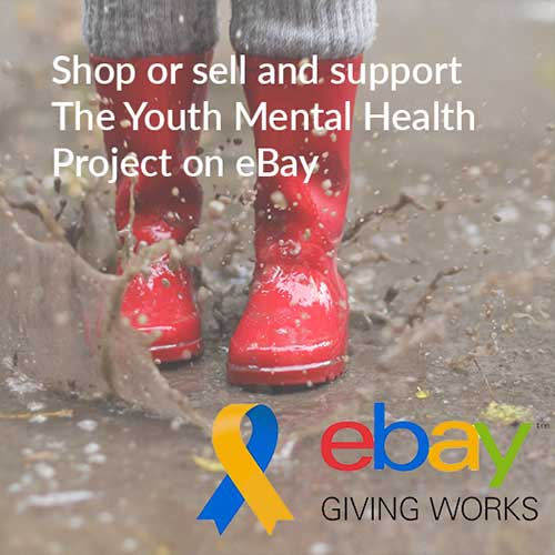 shop eBay and support the youth mental health project