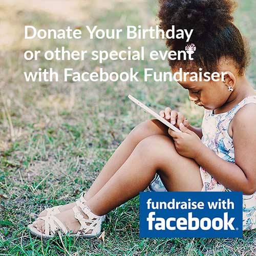 Donate your birthday with Facebook and the youth mental health project