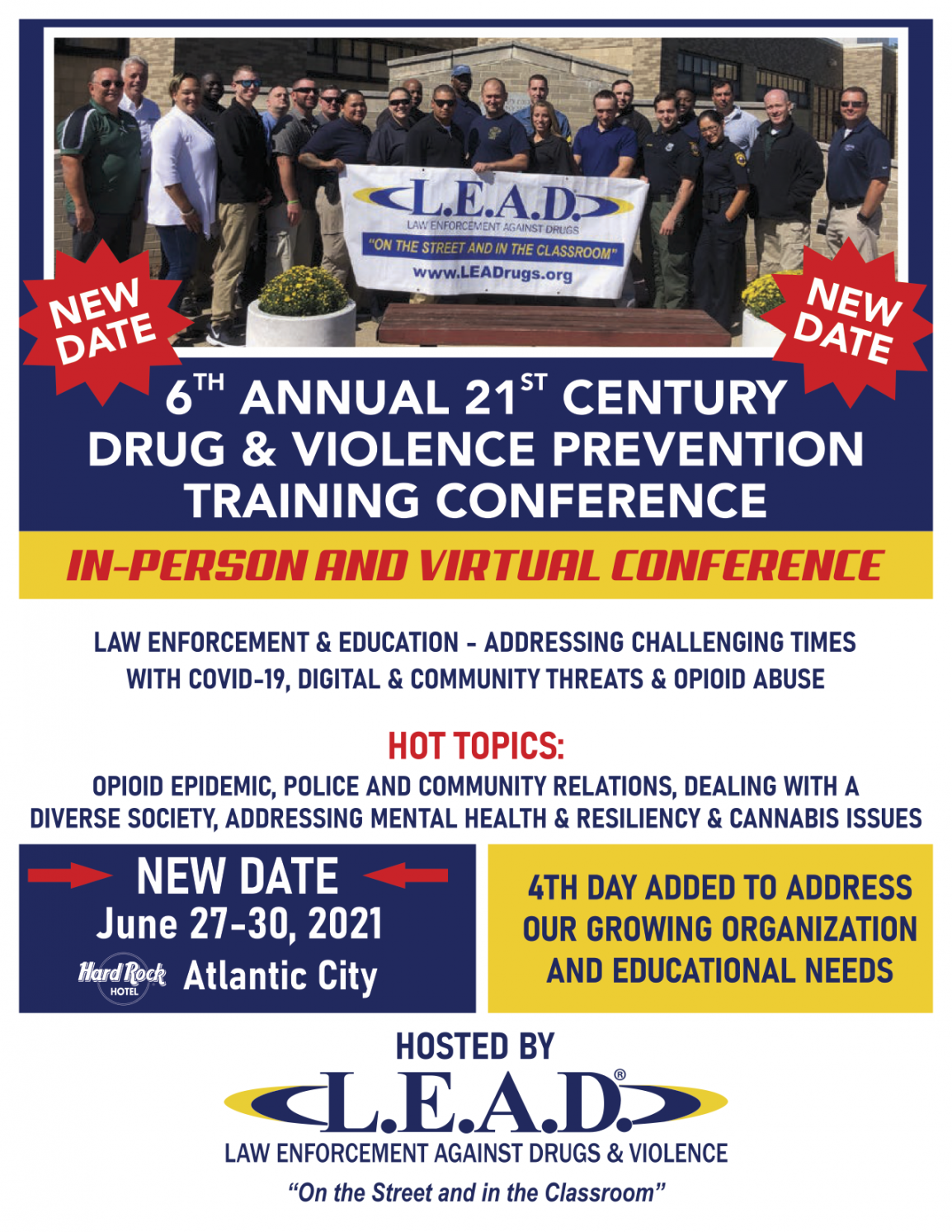 LEAD Conference NEW DATE
