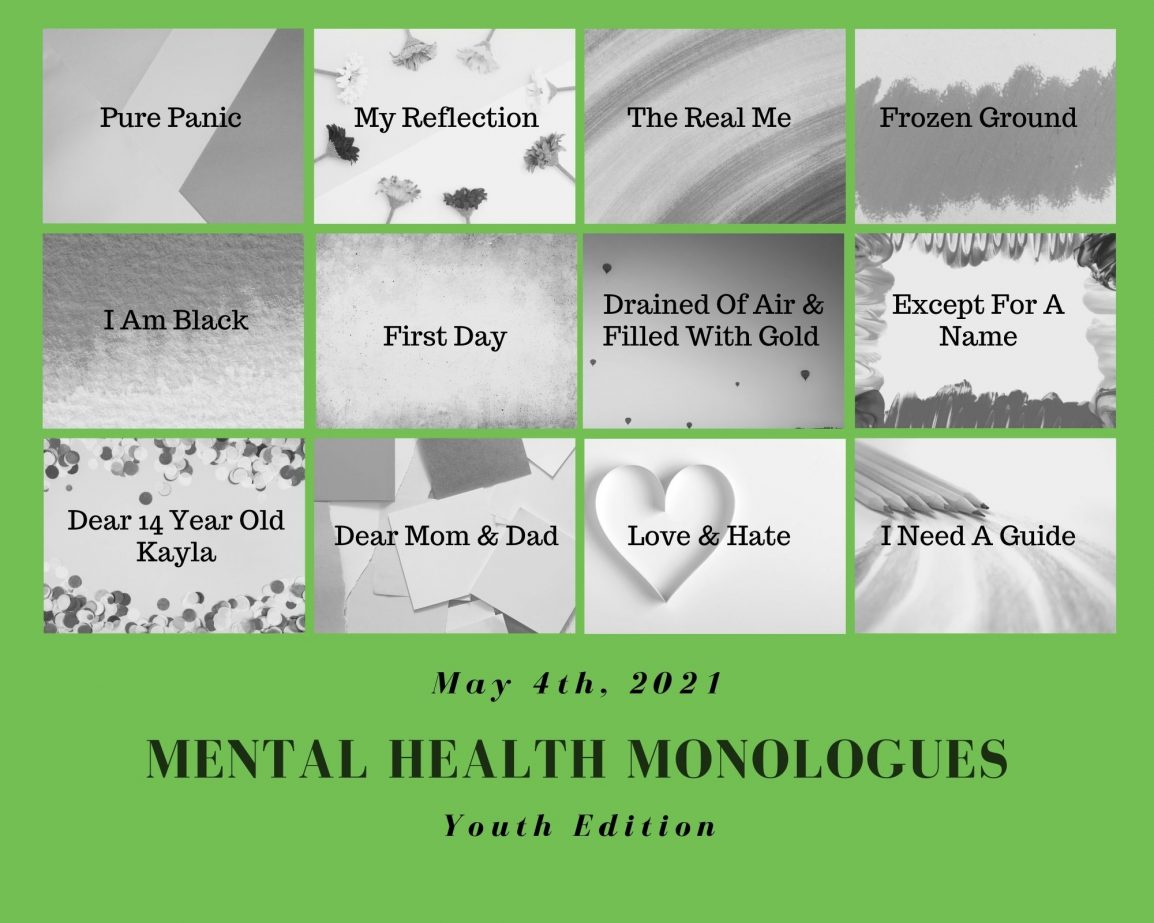 Mental Health Monologues - Youth Edition